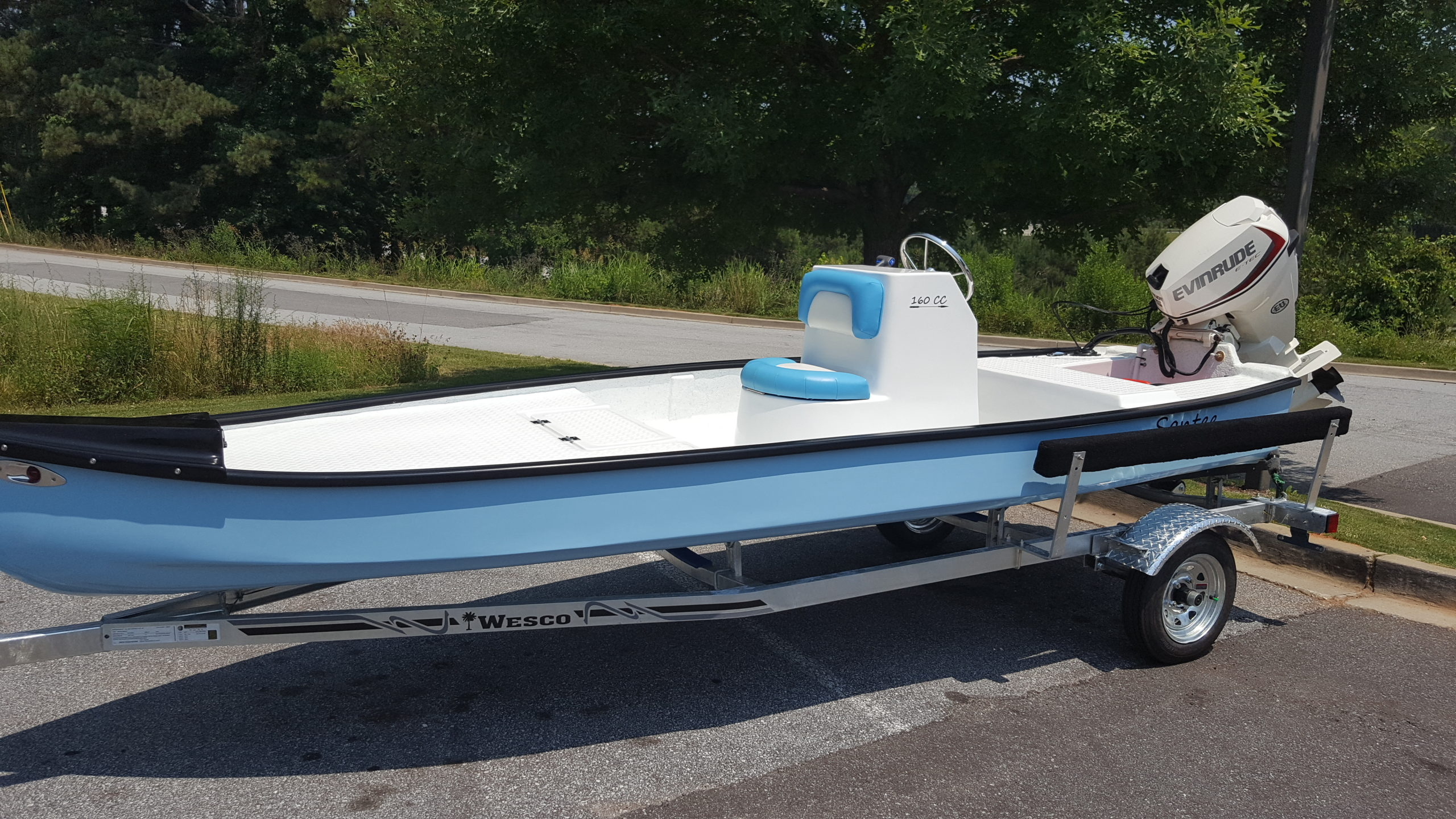 Santee Boats Put Big Features In Small Fishing Boats