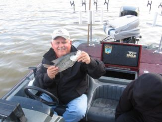 Get that jig to a Wylie crappie in February
