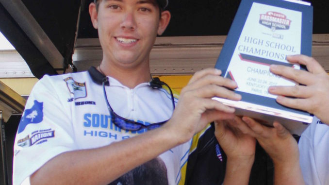 South Florence High School senior selected as Bassmaster