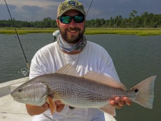 Summer heat means hot redfish bite in Swansboro