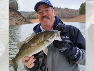 Guide James McManus said smallmouth bass on Fontana Lake will begin to stir in February on points with rock or gravel.