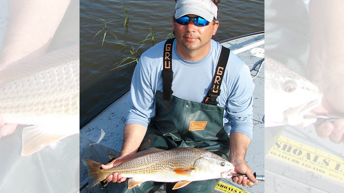 Waters in Brunswick County backwaters warm up sooner than other areas in the spring and draw hungry red drum and other predators.