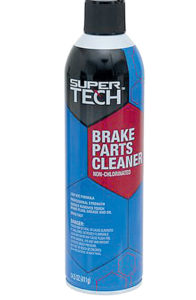 Automotive brake cleaner makes a great cleaning agent.