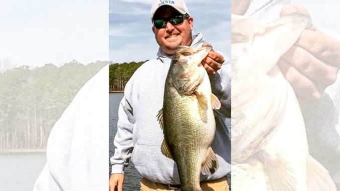 Warm weather in late February can send Jordan Lake's largemouth bass into shallower water, and they won't often leave before spawning a month or so later.