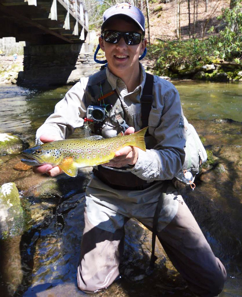 Don't be afraid to target brown trout with bigger lures or flies. Browns, especially big ones, feed on larger baitfish, crustacaens and terrestrials than either brook trou tor rainbows.