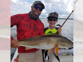 Redfish bite on fire in the lowcountry