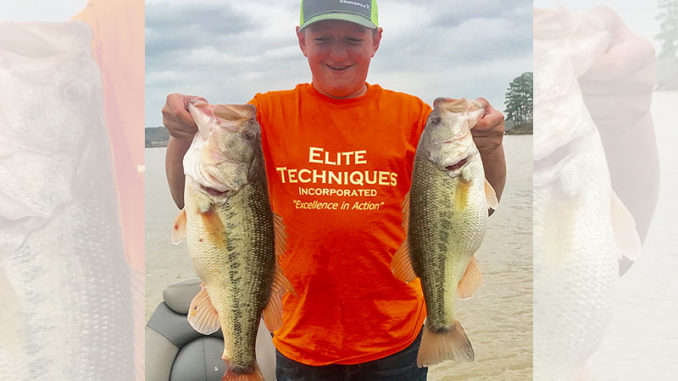 Big, postspawn bass will be keying on the shad spawn at Lake Wateree throughout May.