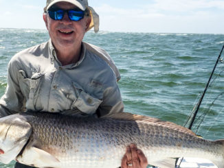 Inlets along the southern end of North Carolina's Outer Banks fill up with big drum this month.