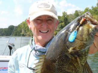 Broad River is South Carolina's top stream for smallmouth bass