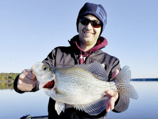 Slab crappie are biting on upper end of Jordan Lake