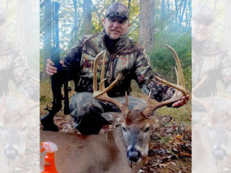 Rougemont hunter downs trophy Granville County 9-pointer