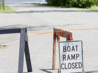 boat ramps closed