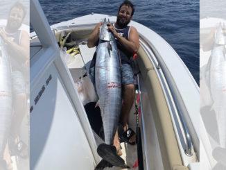 84.5-pound wahoo
