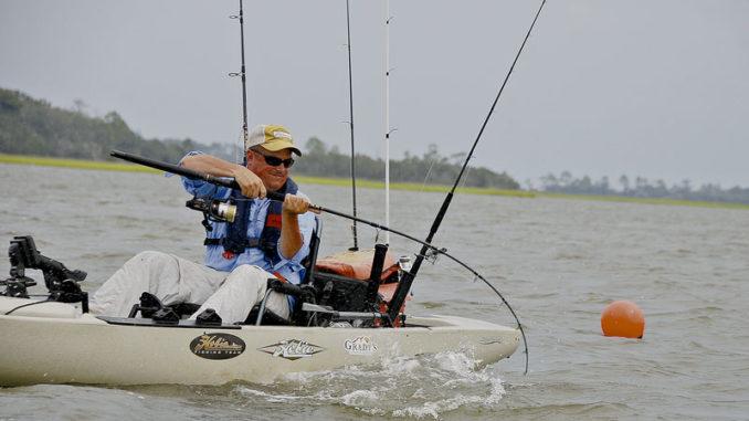 kayak anglers