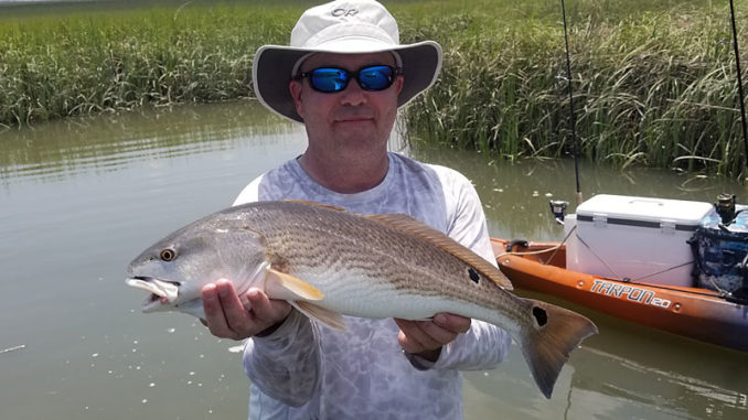 Harbor River redfish