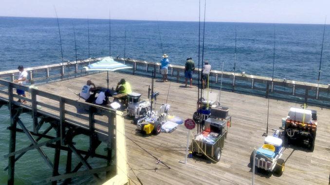 pier fishing