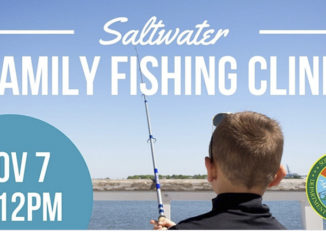 family fishing clinic