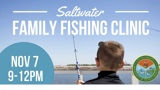family fishing clinic