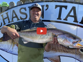 10.25-pound speckled trout