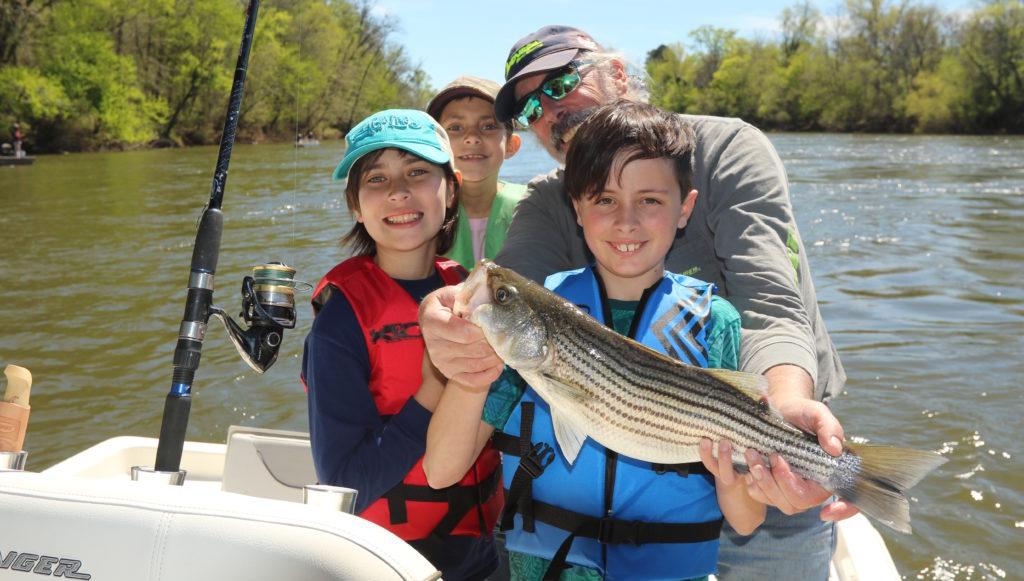 Roanoke River striper