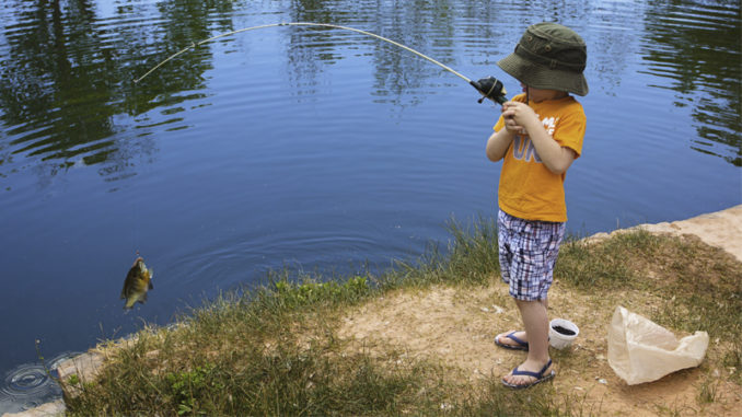 youth fishing events
